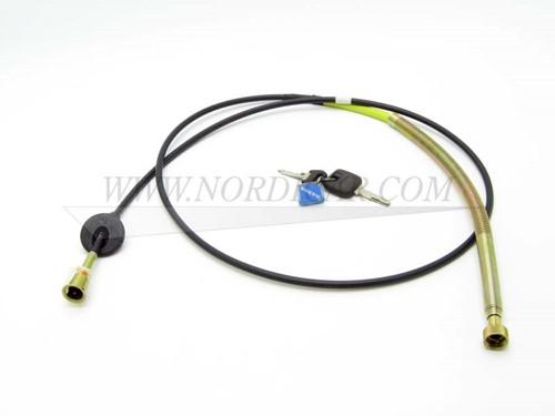 Kilometerteller kabel Volvo 240 260 M41 M46 Overdrive 1214859