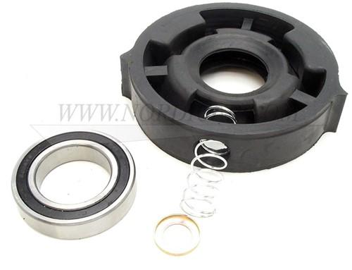 Tussenaslager+rubber Volvo 1800E/ES 140E 164 240 as 50.8mm 1221635