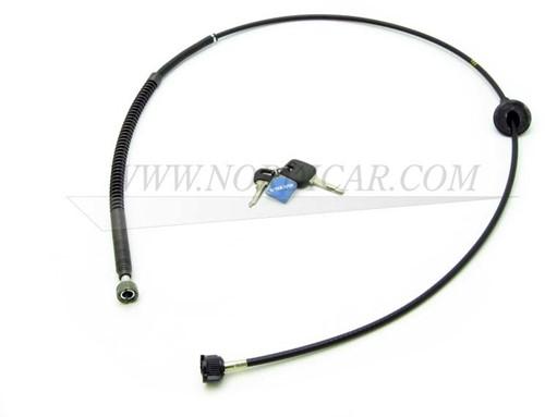 Kilometerteller kabel Volvo 240 260 VDO teller L=1510mm 1234255