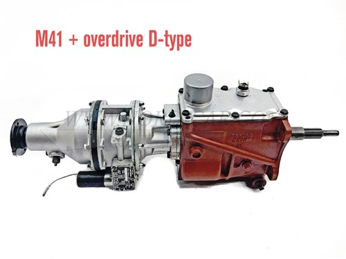 Versnellingsbak M41 met D-type Overdrive gereviseerd Volvo Amazon P1800 140 B18 254322