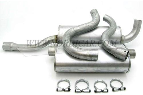Schalldämpfersatz Volvo 740 760 940 960 -94 turbo 16V 272261F