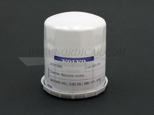 Oliefilter benzinemotor Volvo S40/V50 04- C30 06- S80 07- V70 08- 30731880
