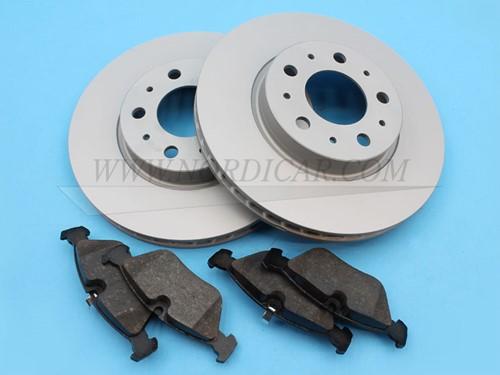 Remschijf set Voor: 280mm Volvo 850 S/V/C70 960 S/V90 REMSET3