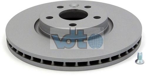 Brake disc- Front Volvo S80 07- V70 XC70 08- S60 11- V60
