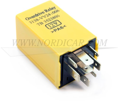 Overdrive relais geel Volvo 740 88- 940 M46 3523806