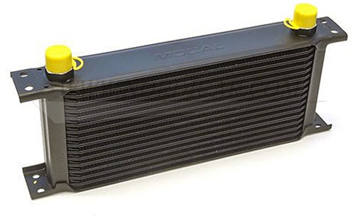 Oliekoeler radiator 16 rijen Volvo 544 210 Amazon P1800 140 164, B18 B20 B30 418490