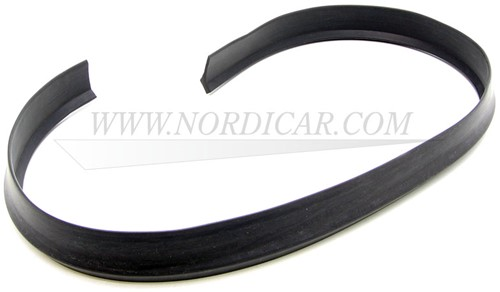 Bonnet rubber seal- Front