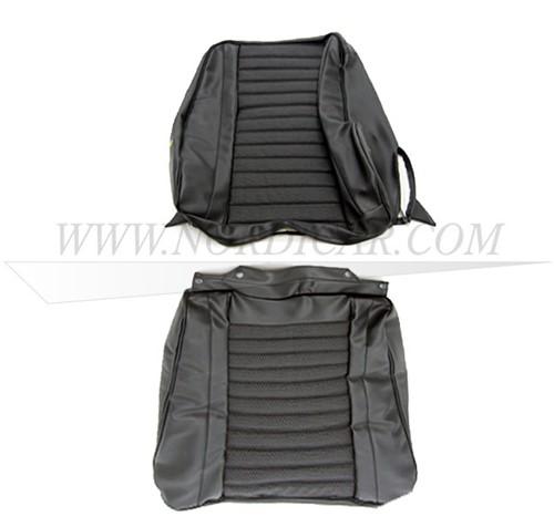 kit de Housse de siège – coloris noire – assise et dossier