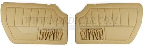 Deurpaneelset goudbruin Links en Rechts Volvo 1800E 37550- 1800ES