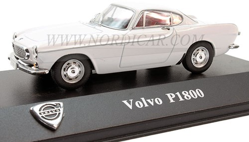 Modellauto Volvo P1800S weiss Volvo P1800 1 43