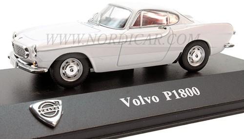 Voiture miniature Volvo P1800S Blanche Volvo P1800 1 43 8506003