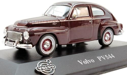 Modelauto Volvo PV544 maroon rood