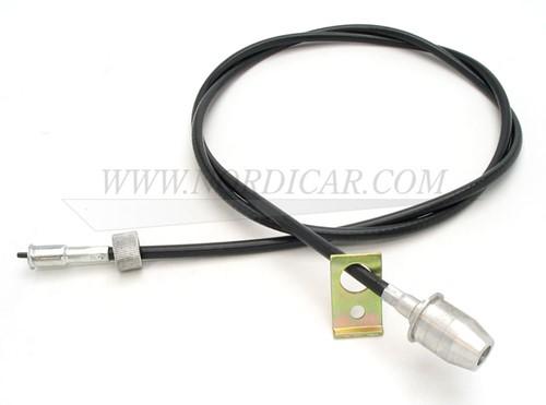 Kilometerteller kabel compleet Volvo 444 445 oud model (kleine wartel) 87998