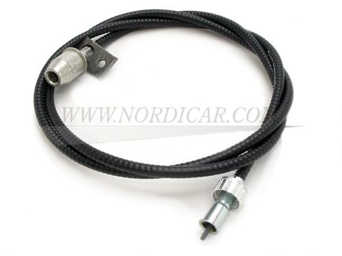 Kilometerteller kabel Volvo 444 445 -1957 (grote wartel) 89243