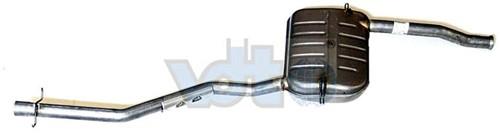 Uitlaatdemper Volvo 850 S/V70 -00 C70 -05 m/turbo 8631007