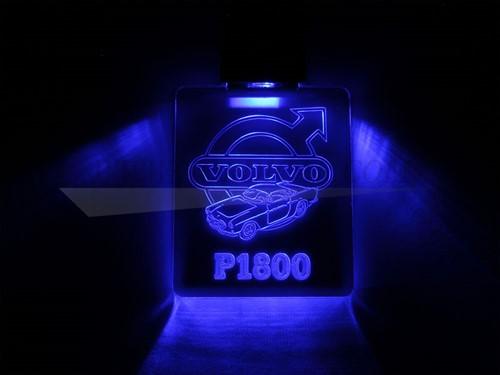 Sleutelhanger met LED verlichting Volvo P1800 Volvo LED verlichting met effecten NOR1800SHV