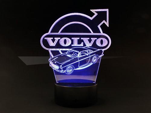 Lichtornament Volvo  P1800S P1800E Volvo LED verlichting met effecten NORP1800LV