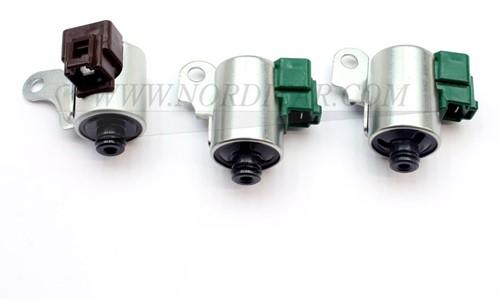 Solenoid set 3st. Groene stekkers Volvo S/V70 C70 S60 S80 V70 AW50-42 REPAW50