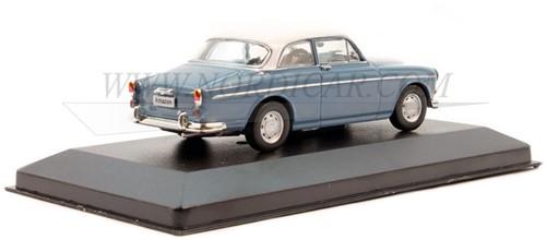 Voiture miniature Volvo Amazon 1965 Bleu/Blanche Volvo P130 1965 1 43 WHI256